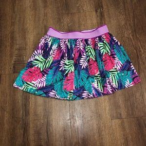 cat and jack girls purple skirt/shorts